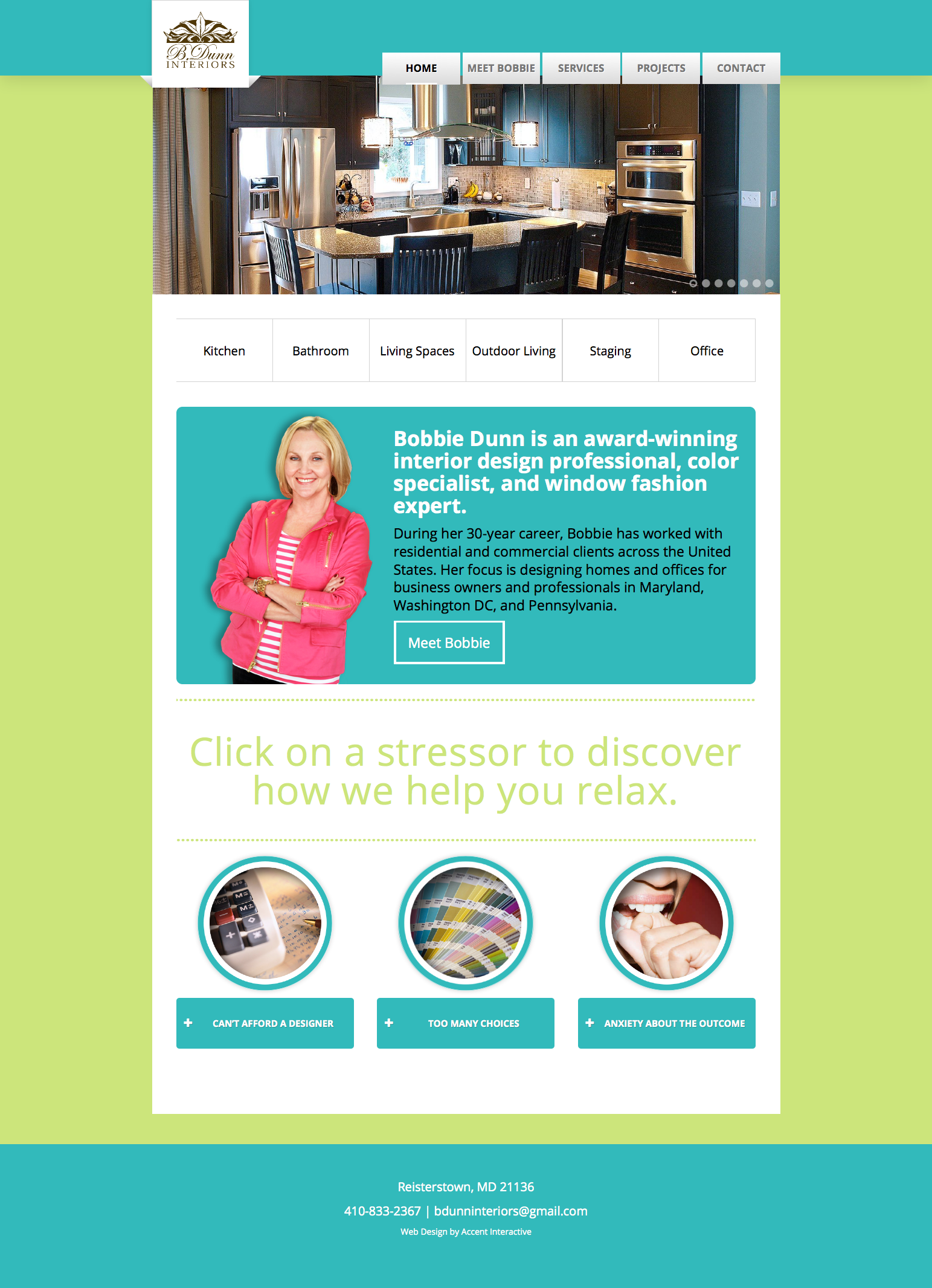 Colors for professional website - A Few Of The Hundreds Of Sites We Ve Designed