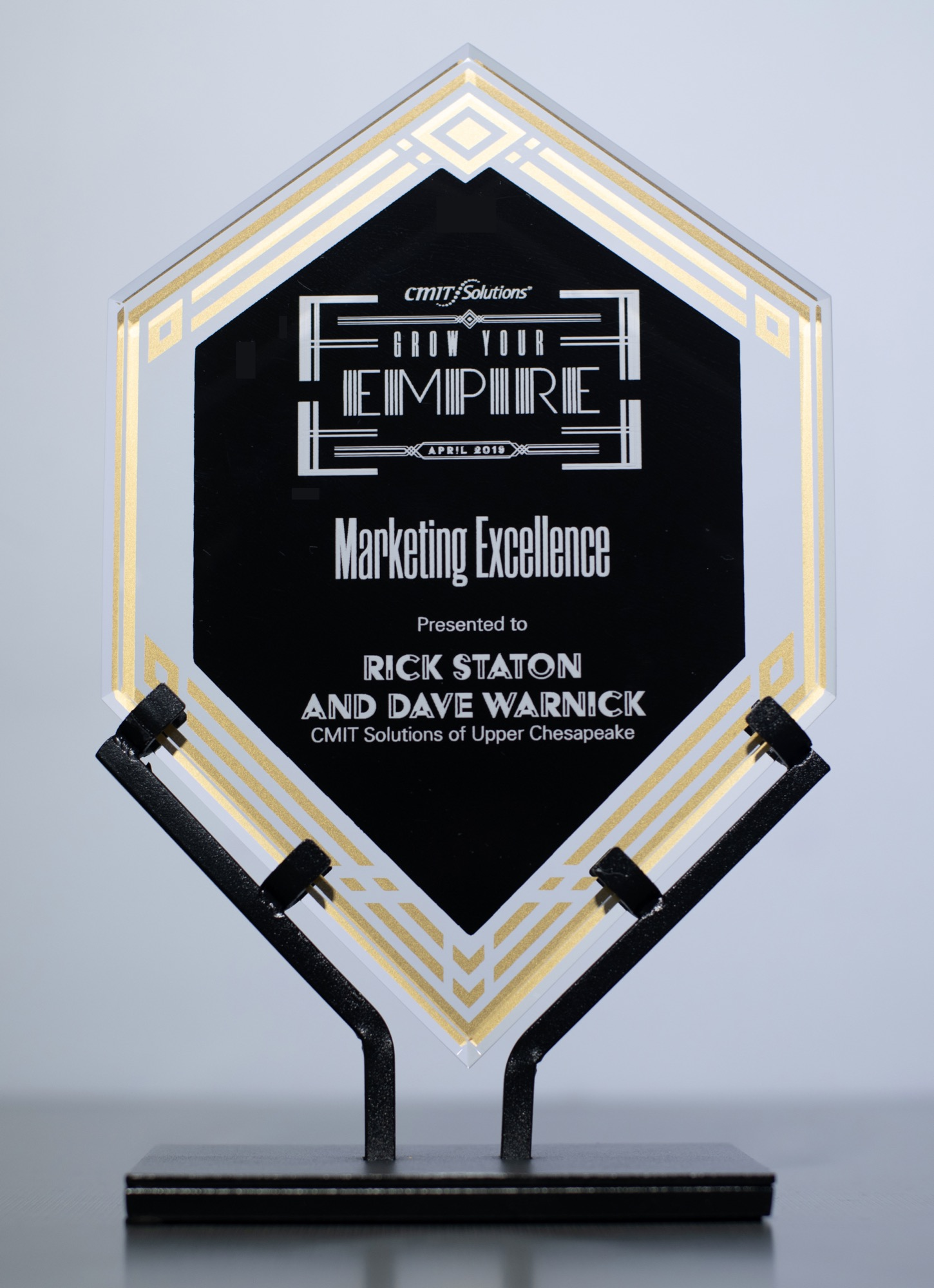 CMIT Solutions Marketing Excellence Award