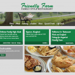 Friendly Farm Website Design