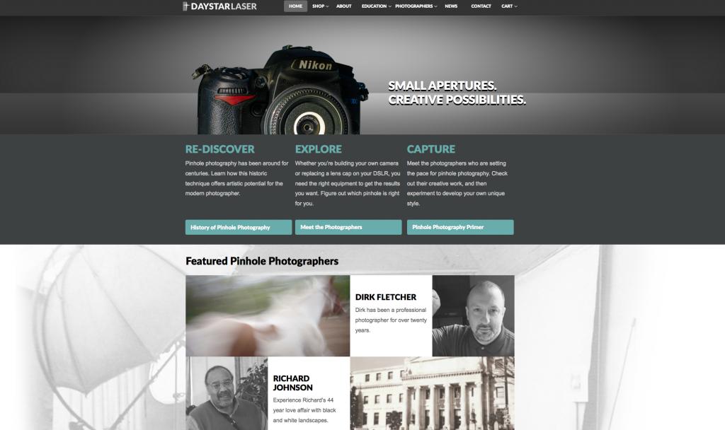 Daystar Laser homepage