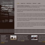 Cearfoss Brothers Construction Website