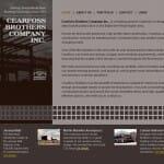 Cearfoss Brothers Construction Website