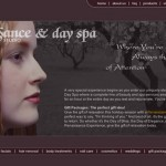 Renaissance Hair Studio Day Spa Web Design