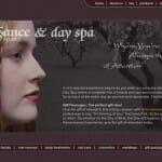 Renaissance Hair Studio Day Spa Web Design