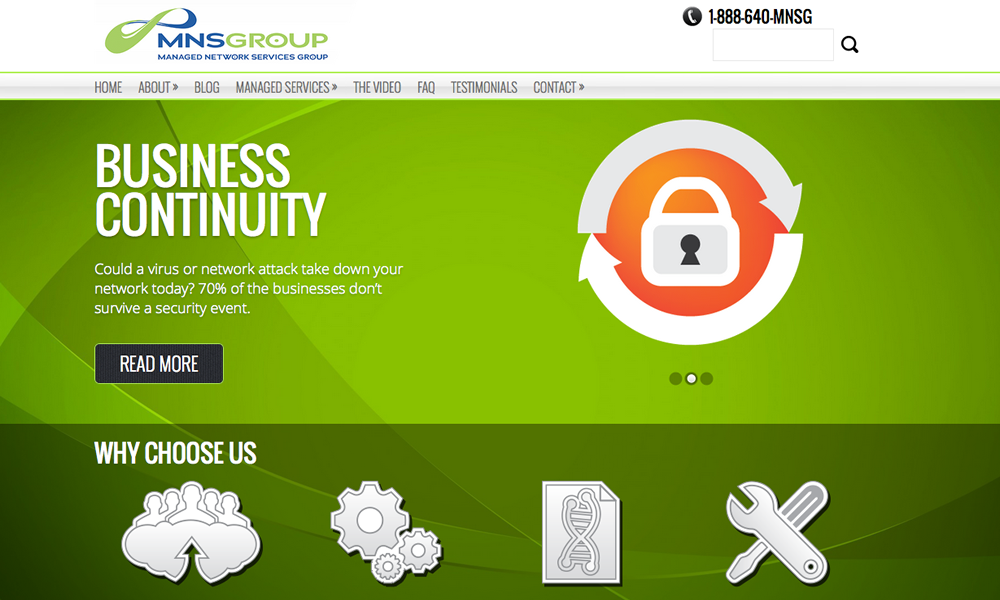 Web Design MNS Group